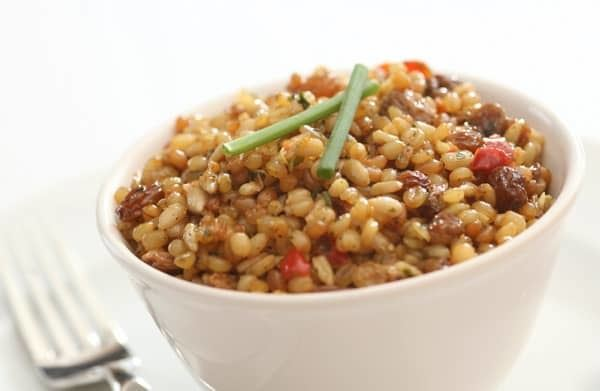 Red Wheat Berry Salad